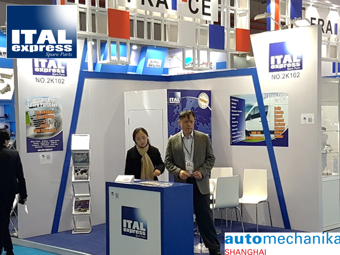 Automechanika Shanghaï 2018 ITAL Express Booth